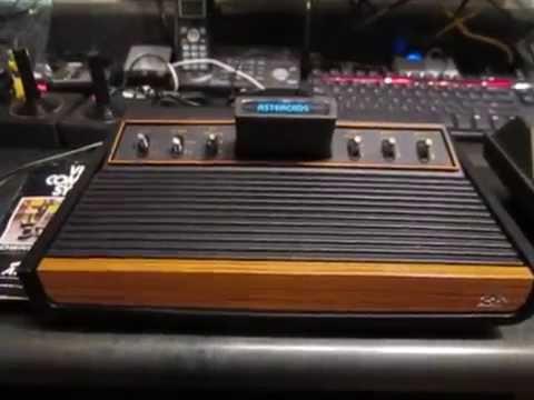 The Retro Gamer! Atari Tele-games 2600 heavy sixer!  CX2600.  Six switches.  Sunnyvale, California