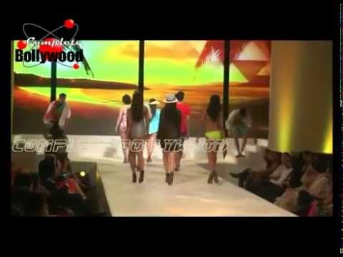 Yami Gautam As Show Stopper for Marks & Spencer Collection SS '15 with  Gauhar Khan & others