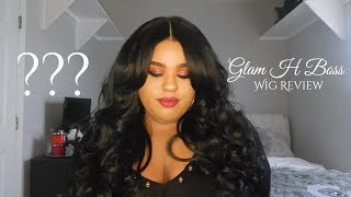 Glam H Boss Wig Review-- The Curvy Classic