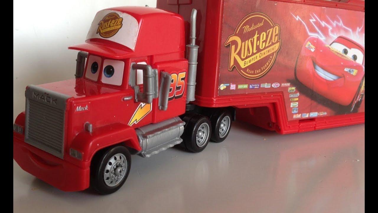 Find A Carwash >> Mack Truck Car Wash Playset CARS 2 العاب اطفال شاحنة كارز - YouTube