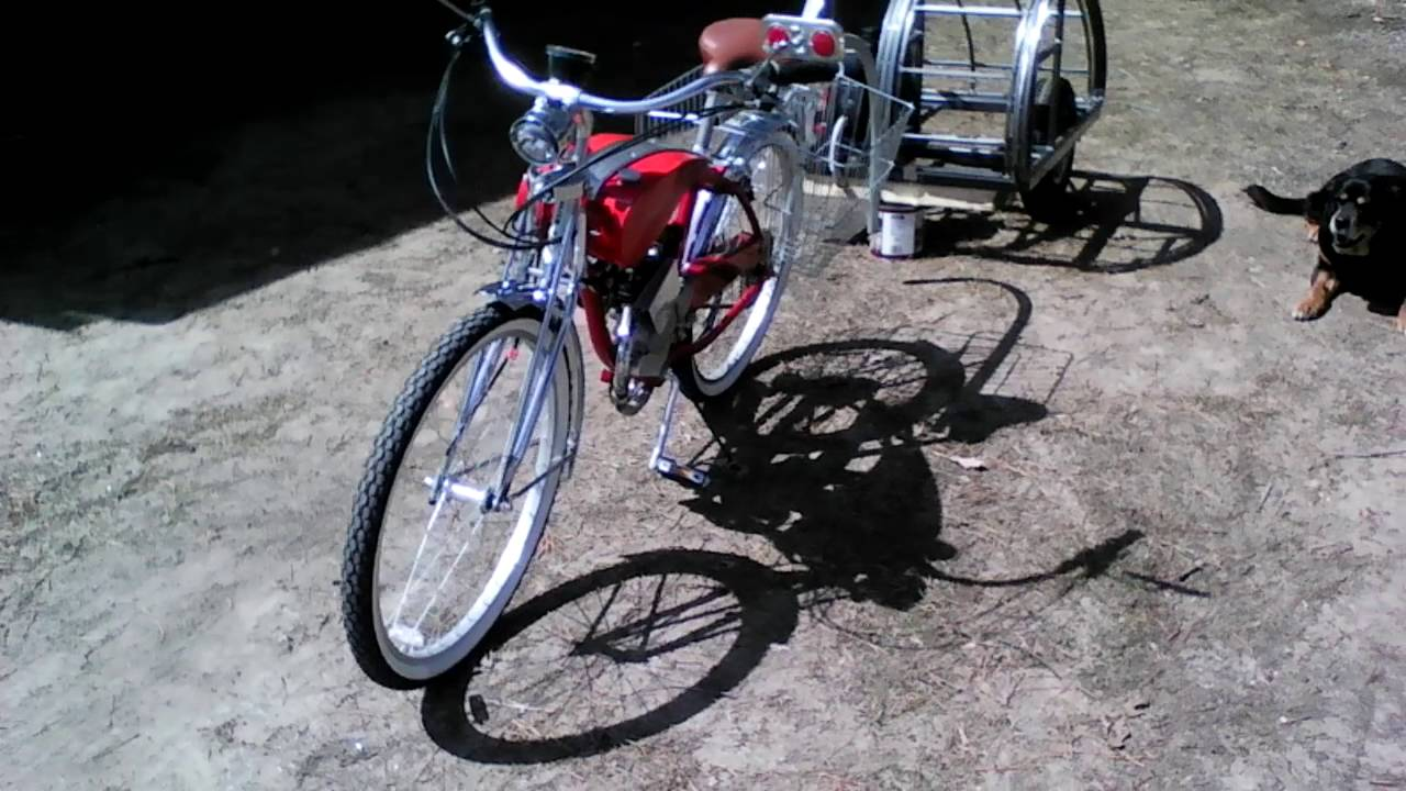 Motorized Teardrop Bicycle Trailer Part 1 Youtube