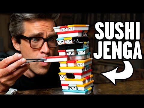 We Play Sushi Jenga