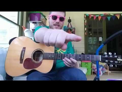 I'll Suck...for a cup of coffee - Portland busker // easy guitar tutorial