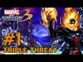 Marvel Vs Capcom 3 Gameplay Multiplayer Part 1 Triple Threat Xbox 360, Playstation 3, PS Vita