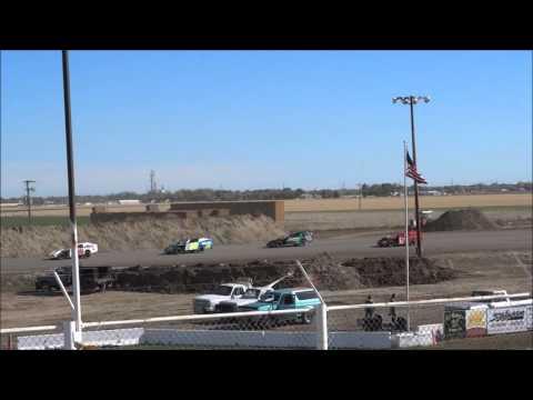 I-76 Speedway - IMCA Modified Heat Race 11/1/15