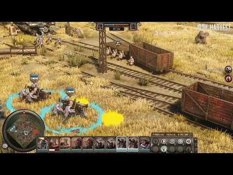 IRON HARVEST- Official Gameplay Walkthrough- New Mech RTS Game 2019