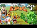 Angry Birds Epic - VICTORY Shaking Hall 4 Cave 1 - Angry Birds Game