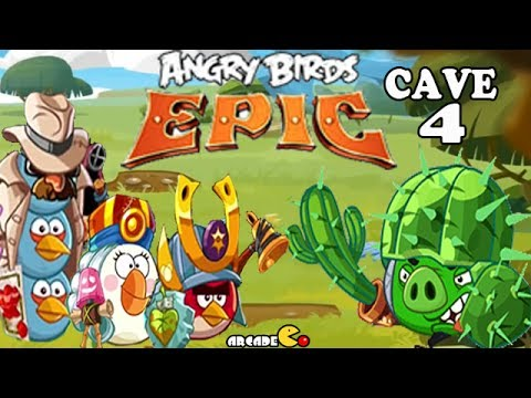 Angry Birds Epic - VICTORY Shaking Hall 4 Cave 1 - Angry ...