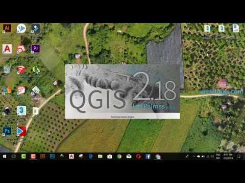 GRATUITEMENT TÉLÉCHARGER QGIS 2.18.13