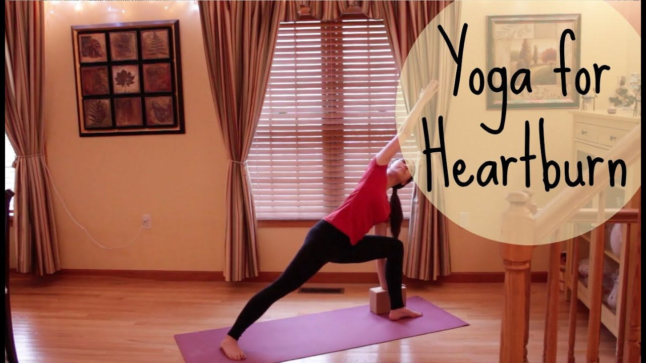 33 Min Yoga for Heartburn & Indigestion - Yoga Sequence to Relieve Acid  Reflux