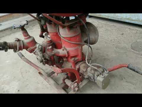 Пожарная мотопомпа МП-800Б