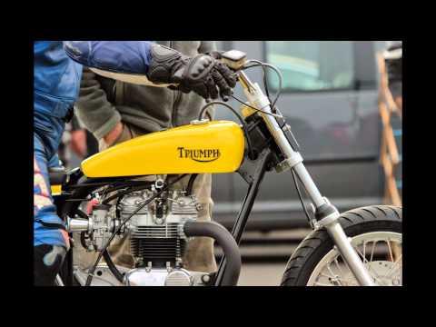 Triumph T140 Flat Tracker
