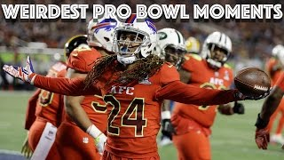 Weirdest Moments of the 2017 Pro Bowl | NFL Highlights