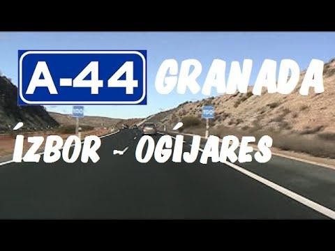 A-44 Granada , Autovía Sierra Nevada , Tramo Ízbor - Ogíjares / Granada Province - Highways in Spain