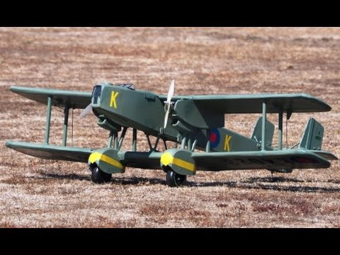 Handley Page Heyford 1935 RC Electric Model Airplane.