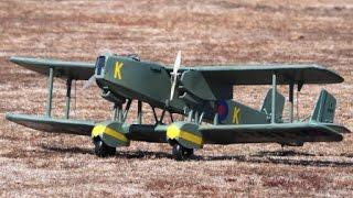 Handley Page Heyford 1935 RC Electric Model Airplane.
