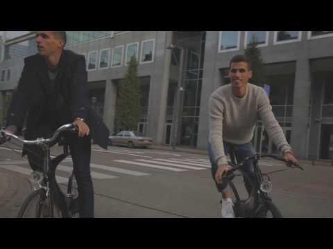 Borlée brothers meet ECCE Cycles in Brussels!