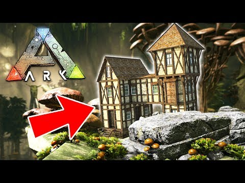 ARK: Survival Evolved - BUILDING OUR BASE!! (ARK Aberration Gameplay)
