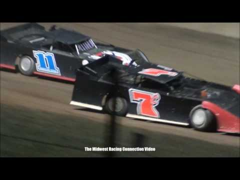 Cedar Lake Speedway Late Model Highlights 04/08/2017