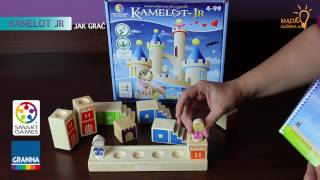 Camelot Junior Jr #2 (gra edukacyjna, zasady, jak grać, SMART GAMES)