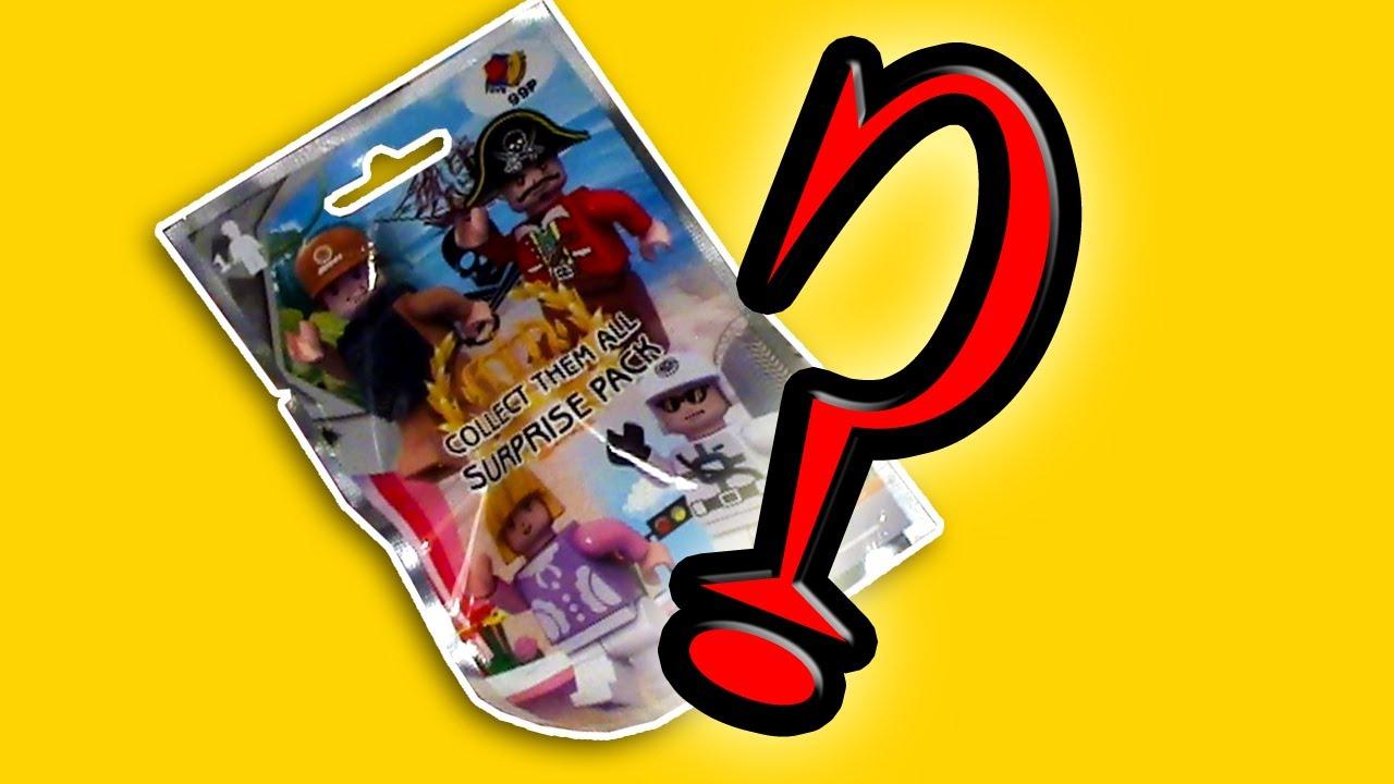 Bj Toys Fake Lego Minifigure Blind Bags Wots Inside