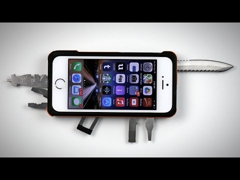 Crazy iPhone Knife Case!
