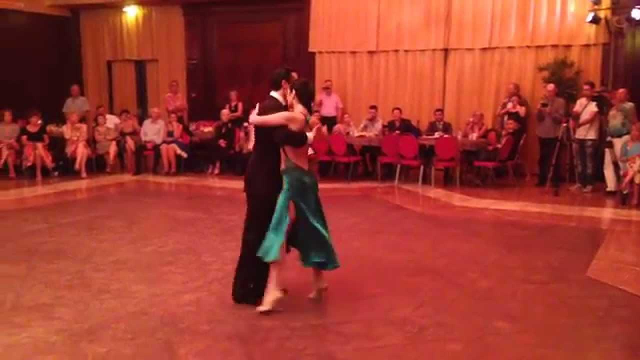 Pablo Moyano y Roberta Beccarini, Tango Spleen Orquesta