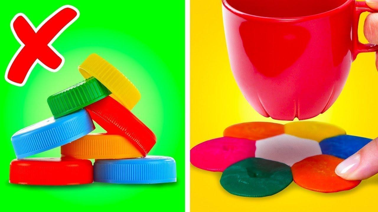 34 гениальных лайфхака для переработки того, что есть у вас дома