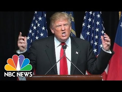 Donald Trump Urges Crowd to Chant 'Turn Off the Lights' | NBC News