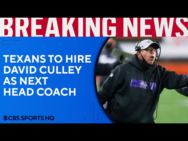 Houston Texans set to hire longtime Ravens assistant David Culley as next head coach | CBS Sports HQ