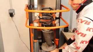 Замена передних амортизаторов KYB на CITROEN Berlingo Multispace; PEUGEOT Partner(Видео инструкция о том, как правильно производить замену передних амортизаторов KYB на автомобилях: Citroen..., 2016-01-13T09:57:20.000Z)