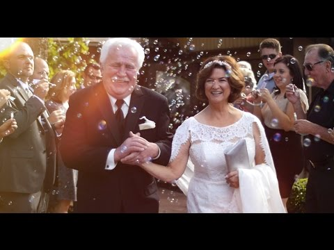 second weddings for older couples