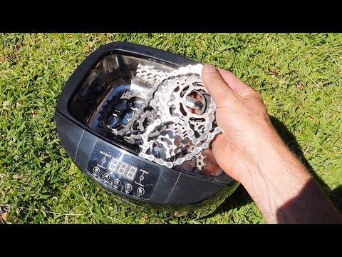 CLEAN BIKE: The Ultrasonic Part Cleaner!