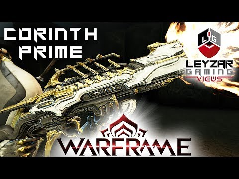 Corinth Prime Build 2020 (Guide) - The Golden Rose (Warframe Gameplay)