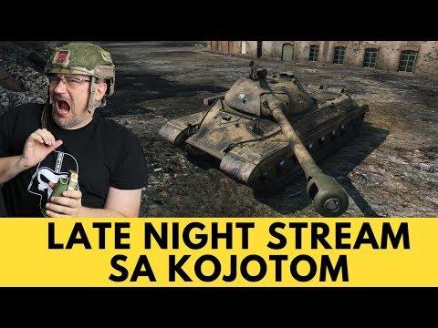 WoT Srbija | Late Night Stream sa Kojotom! | KursorTV