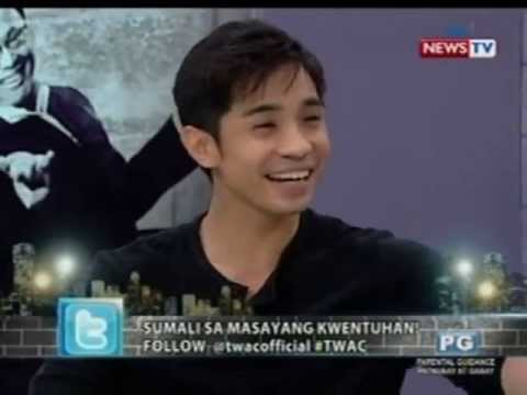 Tonight with Arnold Clavio: Kapuso Hunk JC Tiuseco's hosting skills, plans, and abs