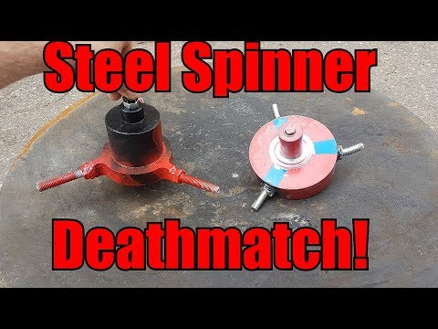 Thumbnail: Most Dangerous Spinning top/Beyblade/Spinner Fight Ever!