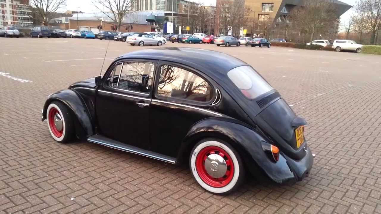 First Time Driving Slammed Vw Beetle 1977 Amazing