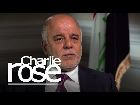Iraqi PM Abadi: 'Zero Tolerance' for Shia Militia Atrocities (Apr. 17, 2015) | Charlie Rose