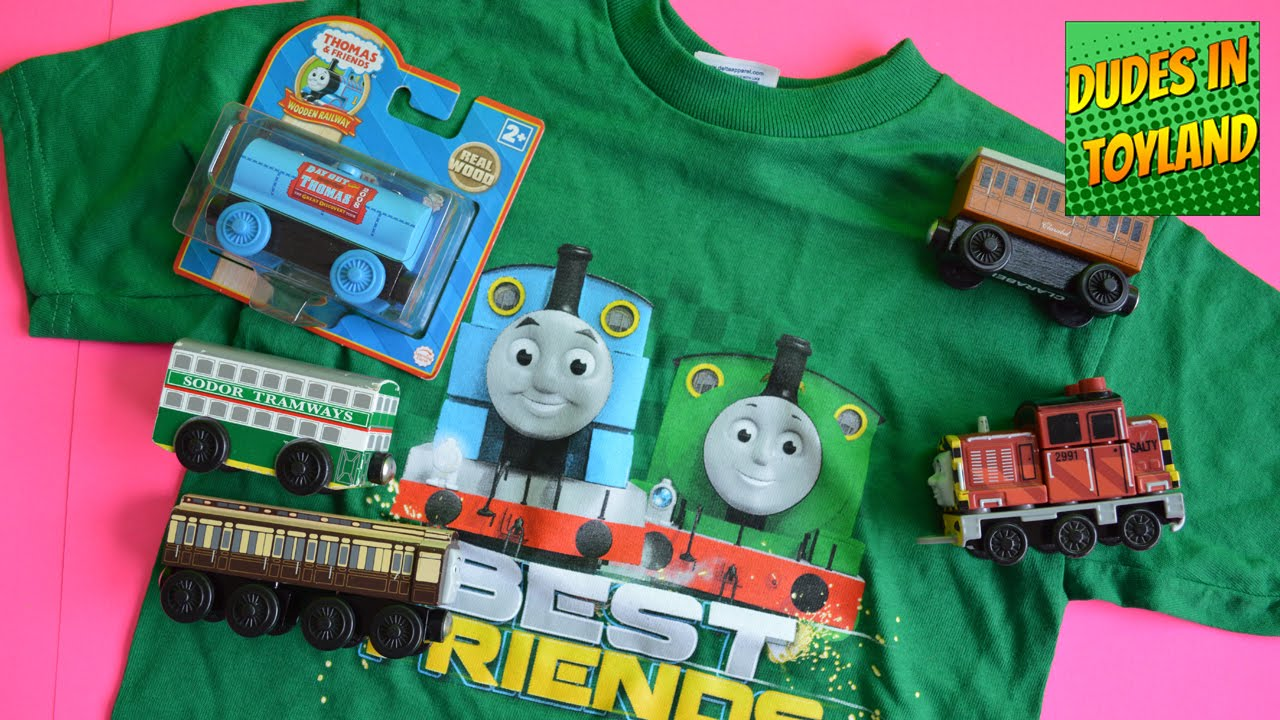 Thomas And Friends Toys Wooden Railway Old Slow Coach Vintage Rare Exclusive Toy Videos Meg Bloks