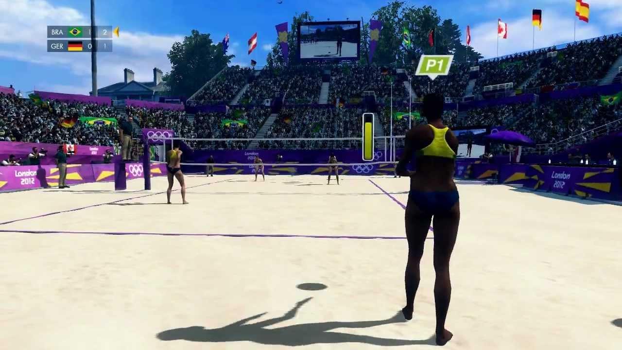 Londres O Jogo Oficial Das Olimpiadas Volei De