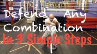 Defend Any Boxing Combination in 3 Simple Steps!