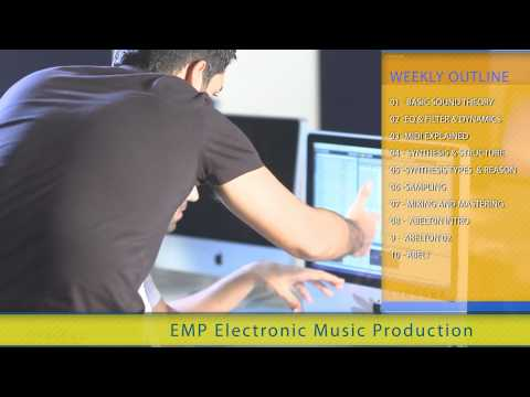 EMP - Electronic Music Production shortcourse at SAE Dubai