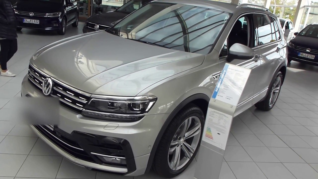 2018 vw tiguan 39 39 r line 39 39 exterior interior 2 0 tdi motion playlist youtube. Black Bedroom Furniture Sets. Home Design Ideas