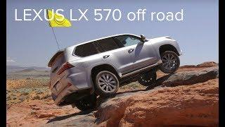 Choáng với khả năng Off Road của Lexus LX 570 tại con đường Việt Nam LX 570 Off Road