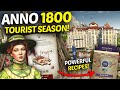 ANNO 1800 - All TOURIST SEASON Features! - Gameplay Review