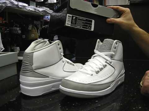 new style aaf81 b700e Nike Air Jordan Retro 2 Silver Anniversary Edition at Street Gear,  Hempstead NY