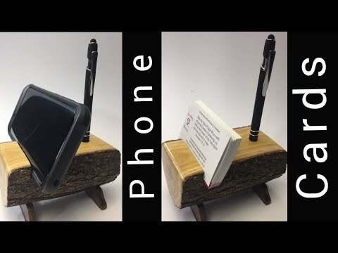 Log phone, pen, card holder