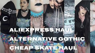 Cheap skate Alternative / Gothic Fashion Haul ALIEXPRESS + GIVEAWAY