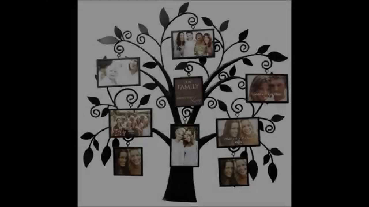 Family Tree Picture Frame Collection Youtube